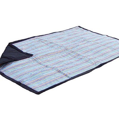 Tuffo Water Resistant Outdoor Blanket, Mini Stripe