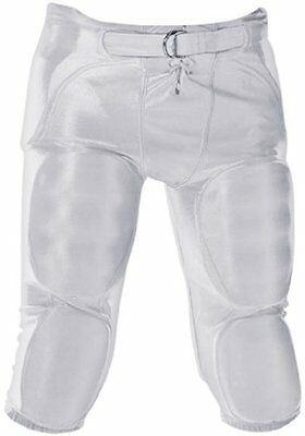Don Alleson Youth Dazzle Football Pants (White, 2X-Large)