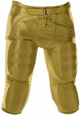 Don Alleson Youth Dazzle Football Pants (Vegas Gold, Large)