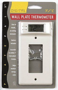 Plate Pals 1 Gang Thermostat Wallplate (11100)