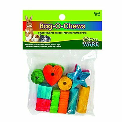 Ware Pine Wood Bag-O-Chews Small Pet Treat, Small, Pack of 12