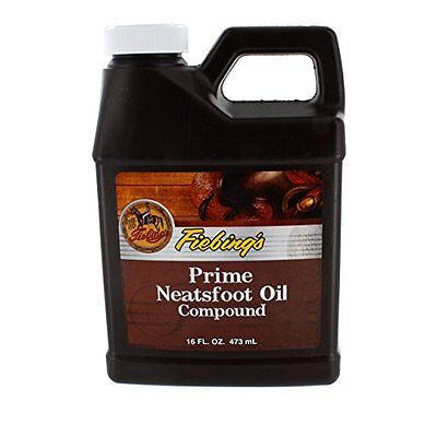 Fiebing's Prime Neatsfoot Compound Oil, 16 oz