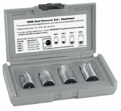 OTC (6987) Metric Stud Remover Set - 4 Piece