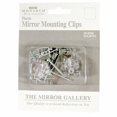 Stanley Tools 20-8300 6 Pack Plastic Mirror Mounting Clips