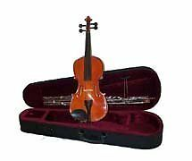 Crystalcello MA200 15 inch Viola with Carrying Case + Bow + Accessories