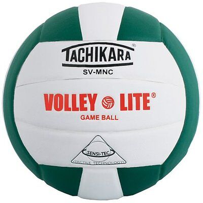 Tachikara SV-MNC Volley-Lite volleyball with Sensi-Tech cover, regulation s