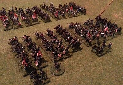 15mm ACW North & South BOTH SIDES American Civil War Painted Armies #1