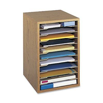 Safco Products 9419MO Vertical Desk Top Sorter, 11 Compartme
