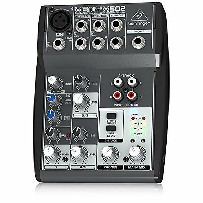 Behringer XENYX502 5-Channel Mixer