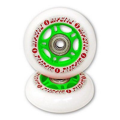 RipStik Casterboard Replacement Wheel Set (White/Green)