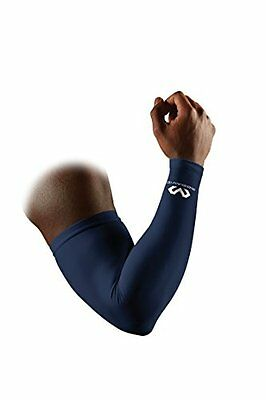 McDavid Compression Arm Sleeve, Navy, Small