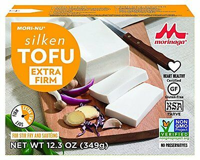 Mori-Nu Tofu  Silken Style  Extra Firm  12.3-Ounce Boxes (Pack of 12)