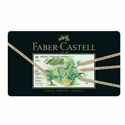 Faber Castell Pitt Pastel Pencil Set of 60 Colors