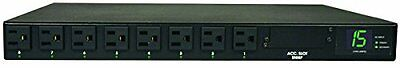 Tripp Lite PDUMH15AT PDU Metered ATS 120V 15A 5-15R 8 Outlet 2 5-15P Horizo