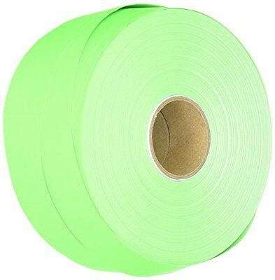 Monarch PAXAR One-Line Pricemarker Labels, Fluorescent Green, 2000 Labels P