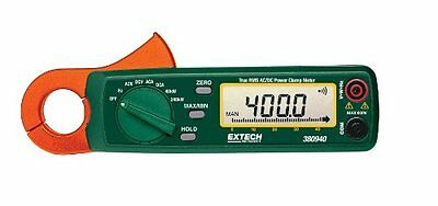 Extech 380940 400A True RMS AC/DC Power Clamp Meter
