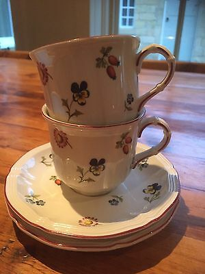 Villeroy Boch Petit Fleur Coffee Cup And Saucer