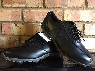 Footjoy Ladies LoPro Golf Shoes Black Clearance 97184K UK5W
