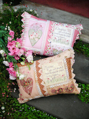 Quilting Sewing Cushion Pattern IN MY HEART Sally Giblin Rivendale Collection...