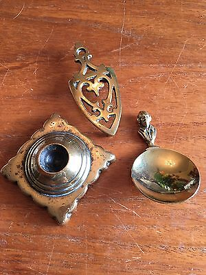 Vintage Miniature Brass Collectables