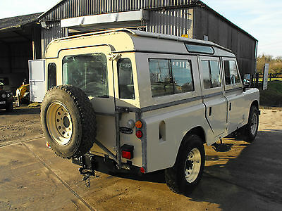 1980 Land Rover Defender leather Land Rover Defender Series 109 STAGE ONE V8 5 door county station wagon 1981