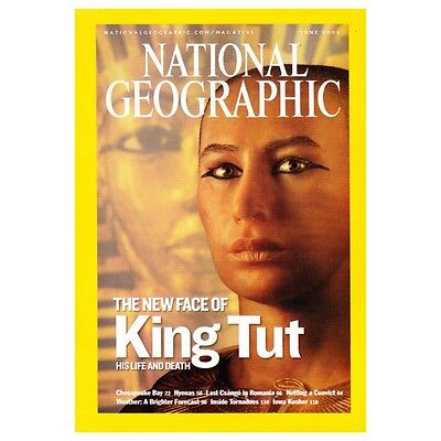 National Geographic Magazine - June 2005 EUROPE, King TUT, Romania, Tornadoes