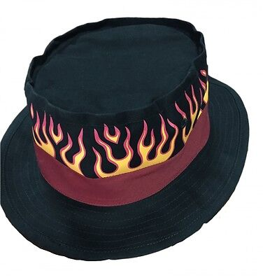 044 Hells Angels Flaming Hat Support 81