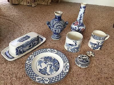 Mixed Lot Blue And White China