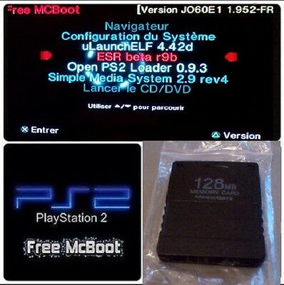 F McBoot ps2 128mb + 18 apps (+30jeux) + tuto(usb) 1.952