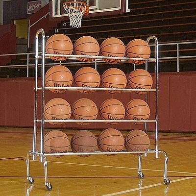 Tandem Sport 4 Tier Ball Rack (Holds up to 16 Athletic Balls)