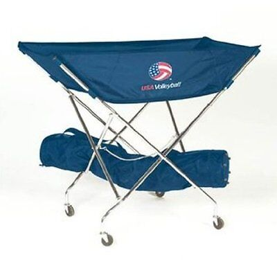 Tandem Sport Ultimate Volleyball USA Drill Cart
