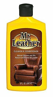 Mr. Leather 707310 Leather Conditioner One Step Liquid - 8 oz.