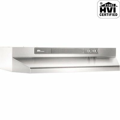 Broan 463004 Economy 30-Inch Under Cabinet Mount Range Hood, Stainless Stee