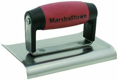 MARSHALLTOWN The Premier Line 156D 6-Inch by 4-Inch Edger with DuraSoft Han