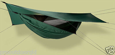 HENNESSEY HAMMOCK Safari Deluxe Asym Classic Including SnakeSkin