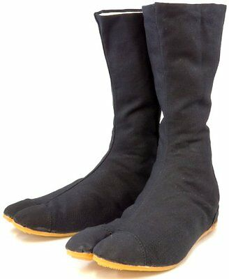 Ninja Shoes, Jikatabi, Rikkio Tabi Boots(US 5~12) Black / White!! +Travel b