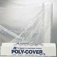 Lbm Poly 4X16-C 16X100-Foot 4-Mil Clear Poly Film - Roll