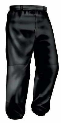 Easton Youth Pro Pull Up Pant, Black, Small