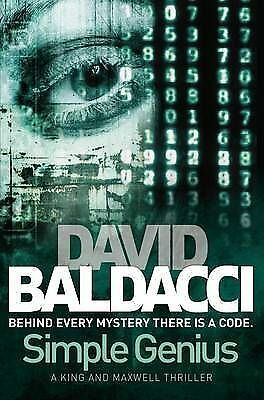 Simple Genius by David Baldacci (Paperback, 2010)-9780330517805-G011