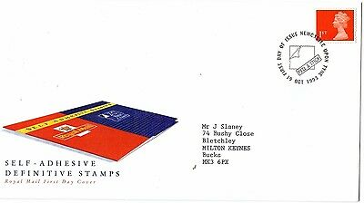 1993 SELF-ADHESIVE DEFINITIVE STAMPS 1st CLASS FDC FROM COLLECTION C3