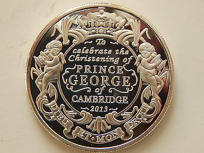 2013 silver five pound coin to prince george