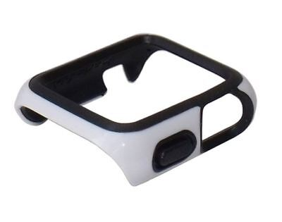 Genuine Speck Candyshell Fit Watch Case for 38mm Apple iWatch - White / Black