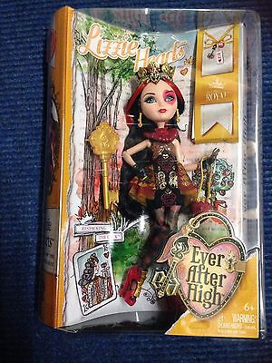 Ever After High Lizzie Hearts BNIB