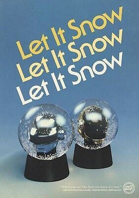 DAFT PUNK Official Snow Globes *SOLD OUT*