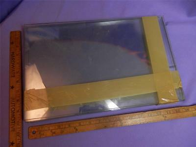 "16""x 10""x 3/16"" thick safety plate glass tempered pane display window shelf door"