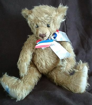 """Merrythought Usa Tide-Rider Classic Teddy Bear + Growl - 16"""" - 10 Of 250 - New"""