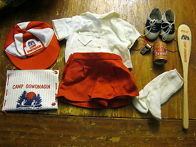 PC/AG Molly Camp Gowonagain Uniform,Saddle Shoes/Socks, Newspaper,Oar,Can + More