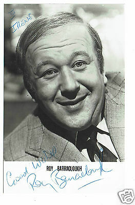 Roy Barraclough Actor  Hand Signed Photograph 5 X 3