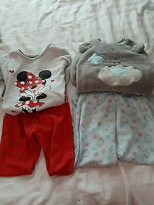 girls pyjamas 4-5 years