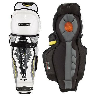 Ccm Ultra Tacks Shin Guards Size - Senior